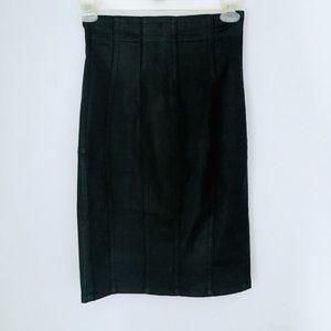 Women's GUESS Black A line Bodycon Midi Skirt